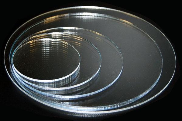 Transparant Plexiglazen Cirkel - 3mm
